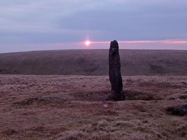 A Dramatic Appearance of the Sun at Beardown Man