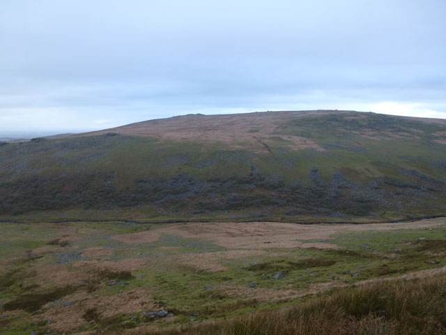 View over Black-a-Tor Copse to Yes Tor