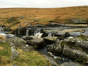 East Dart Waterfall 1